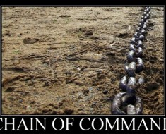 The Chain of Command Phenomenon